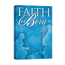 Born Faith Canvas Print