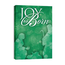 Born Joy Canvas Print
