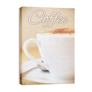 Coffee Cappuccino 24in x 36in Canvas Prints
