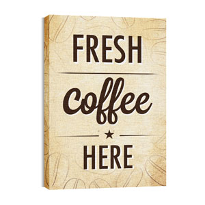 Coffee Retro Wall Art