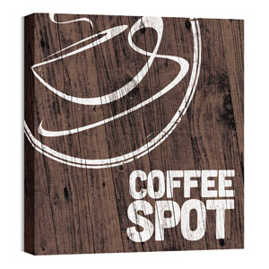 Coffee Spot 24 x 24 Canvas Prints