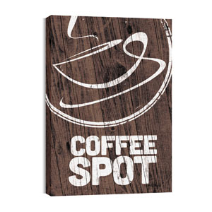 Coffee Spot 24in x 36in Canvas Prints