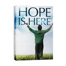 Hope is Here Canvas Print