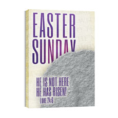 Easter Photo Sunday Canvas Print