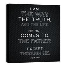 Chalk Jn 14:6 Wall Art