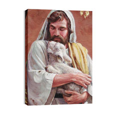 BP Jesus Lamb Canvas Print