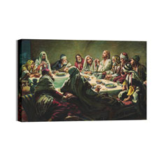 BP Last Supper Canvas Print