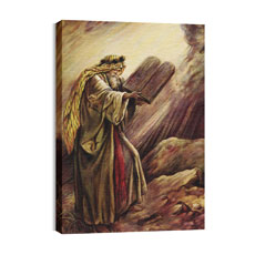 BP Moses Law Canvas Print