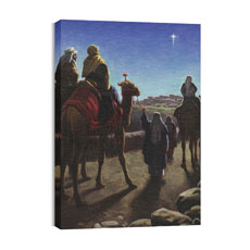 BP Wise Men Canvas Print
