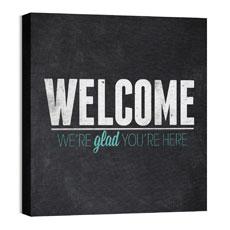 Slate Welcome Wall Art