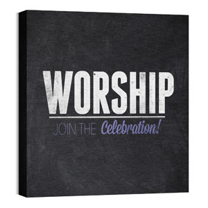Slate Worship Wall Art