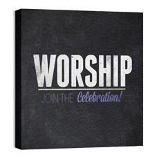 Slate Worship Wall Art
