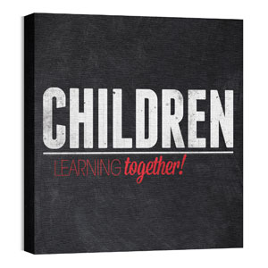 Slate Children Wall Art