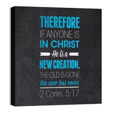 Slate 2 Cor 5:17 Wall Art