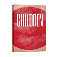 Celestial Children Canvas Print