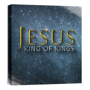 Jesus King Wall Art