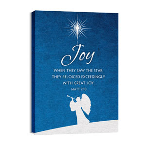 Advent Joy 24in x 36in Canvas Prints