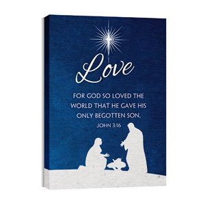 Advent Love 24in x 36in Canvas Prints