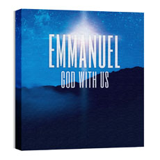 God With Us M Wall Art