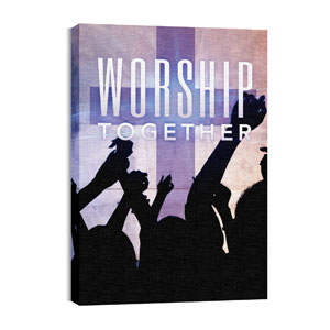 Worship Loud M Wall Art