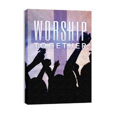 Worship Loud M Wall Art