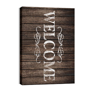 Rustic Charm Welcome Wall Art