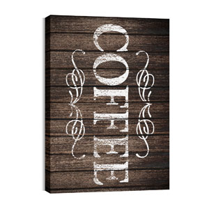 Rustic Charm Coffee Wall Art