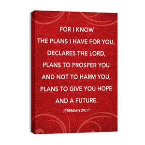 Flourish Jer 29:11 Wall Art