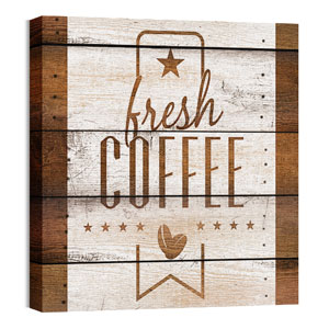 Barn Wood Coffee Wall Art