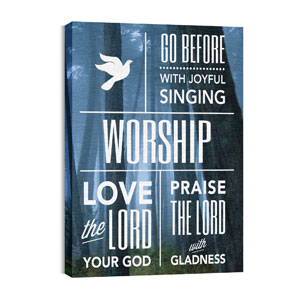 Phrases Worship Wall Art