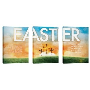 Easter Triptych  Wall Art