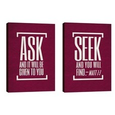 Ask And Seek Wall Art