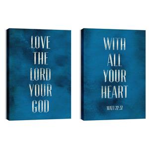 Love The Lord 24in x 36in Canvas Prints