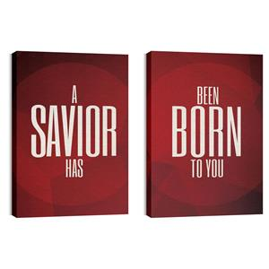 Savior Pair Wall Art