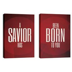 Savior Pair Canvas Print