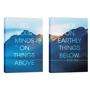 Set Your Mind  24in x 36in Canvas Prints