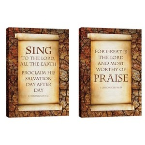 Sing And Praise  Wall Art