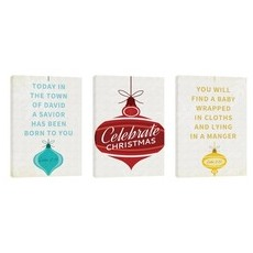 Retro Ornaments Wall Art