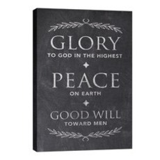 Glory Peace Goodwill Wall Art