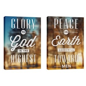 Glory and Peace Wall Art