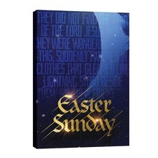 Easter Sunday Blue Tomb Wall Art