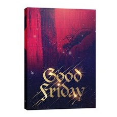 Good Friday Red Crucifixion