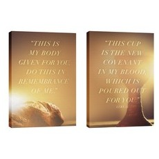 Luke 22 Pair Wall Art