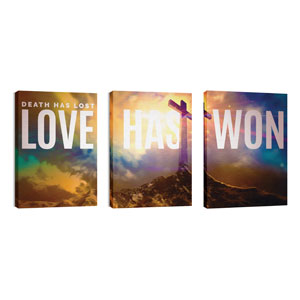 Love Has Won 24in x 36in Canvas Prints