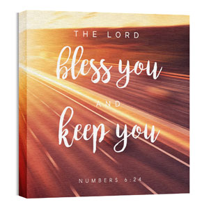 Bless You Keep You 24 x 24 Canvas Prints