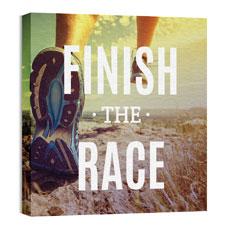 Finish The Race Wall Art