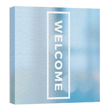 Shimmer Welcome Wall Art