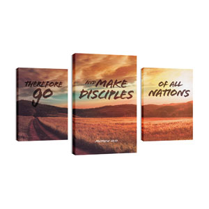 Make Disciples Wall Art