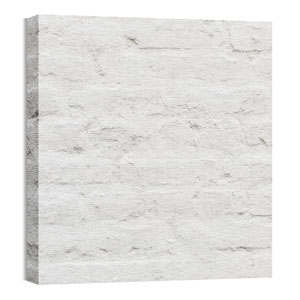 Mod Brick White Wall Art