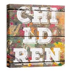 Mod Children 1 Wall Art
